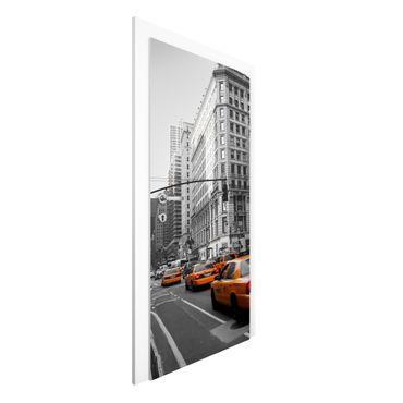 Carta da parati per porte - New York, New York!