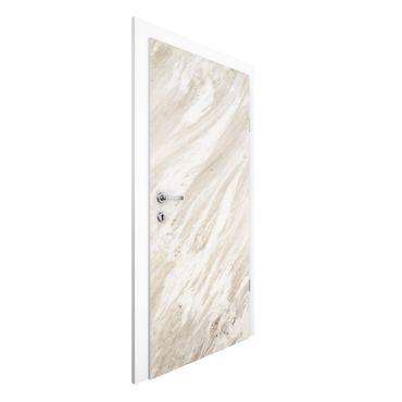 Carta da parati per porte - Palissandro marble beige