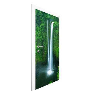 Carta da parati per porte - Waterfall Paradise