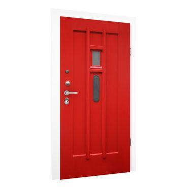 Carta da parati per porte - Red Door from Amsterdam