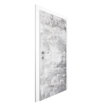 Carta da parati per porte - Concrete Wallpaper - Industry-look concrete optics Wall
