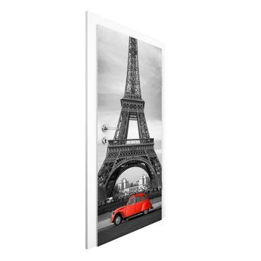 Carta da parati per porte - Spot on Paris