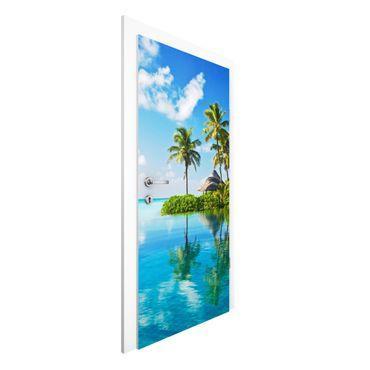Carta da parati per porte - Tropical Paradise