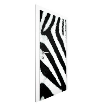 Carta da parati per porte - Zebra Crossing