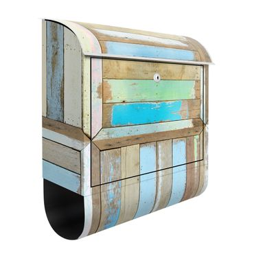 Cassetta postale Rustic Timber 39x46x13cm