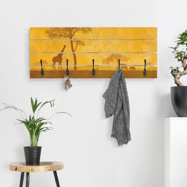 Appendiabiti in legno - Incredibile Kenya