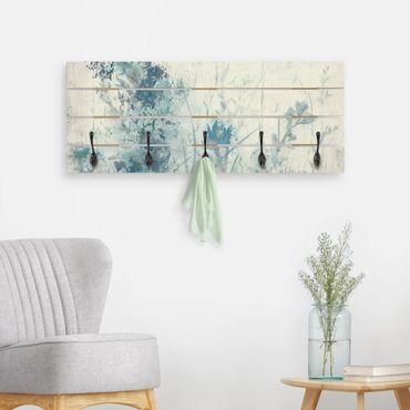 Appendiabiti in legno - Blue Spring Meadow I