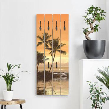 Appendiabiti in legno - Caribbean Sunset I