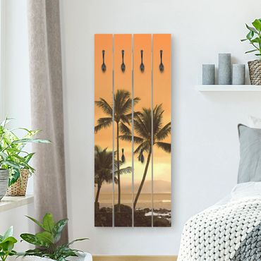 Appendiabiti in legno - Caribbean Sunset II