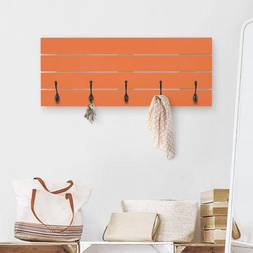 Appendiabiti in legno - colore arancione
