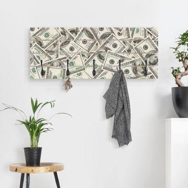 Appendiabiti in legno - dollari