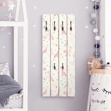 Appendiabiti in legno - Dreaming Giraffe