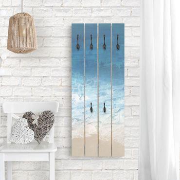 Appendiabiti in legno - Maree a colori I
