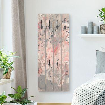 Appendiabiti in legno - Blush I