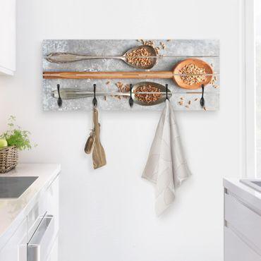 Appendiabiti in legno - Cereal Grains Spoon