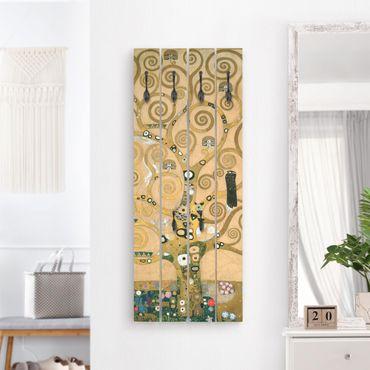 Appendiabiti in legno - Gustav Klimt - Tree Of Life