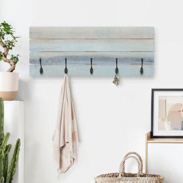Appendiabiti in legno - Orizzonte Blu I