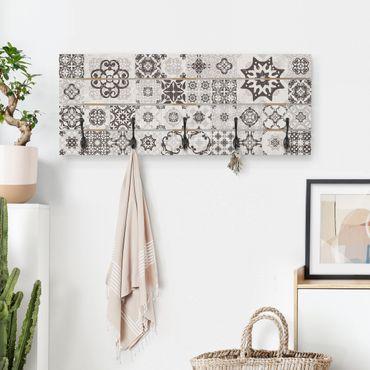 Appendiabiti in legno - Ceramica Piastrelle Agadir grigio