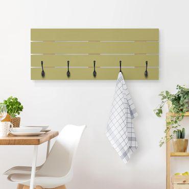Appendiabiti in legno - Lime Green Bamboo