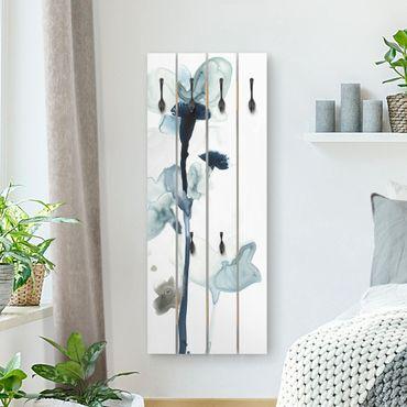 Appendiabiti in legno - Midnight Bloom I