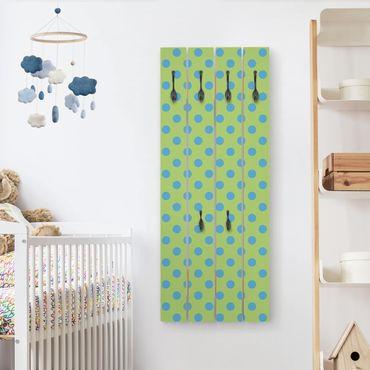 Appendiabiti in legno - No.DS92 Point design Girly Verde