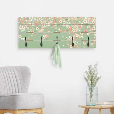 Appendiabiti in legno - No.EK236 Spring Background