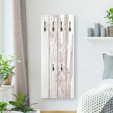Appendiabiti in legno - No.MW20 Living Forest Bianco-Brown