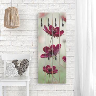 Appendiabiti in legno - Pink Kosmeen - Ganci neri - Verticale