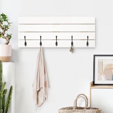 Appendiabiti in legno - Polar White