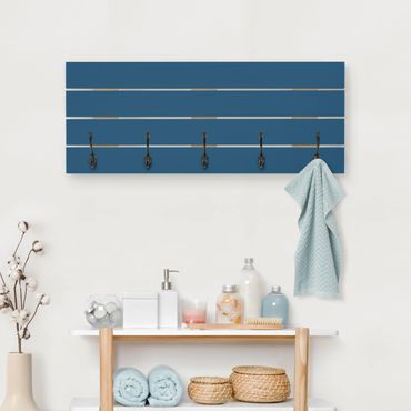 Appendiabiti in legno - Prussian Blue