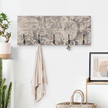 Appendiabiti in legno - Di età compresa tra Floral I