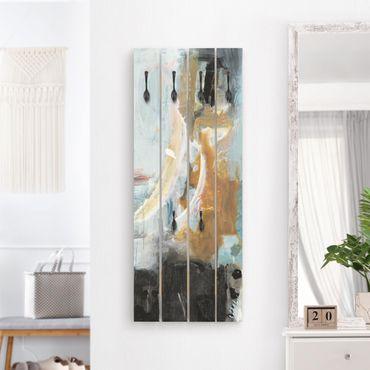 Appendiabiti in legno - Interplay Abstract I