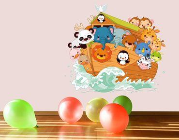 Adesivo murale - L'Arca di Noè