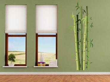 Adesivo murale - cespuglio di bambù