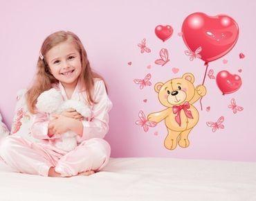 Adesivo murale - cuore Teddy