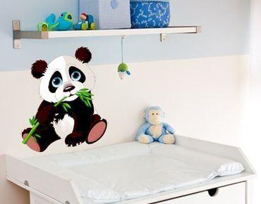 Adesivo murale - bambino Panda