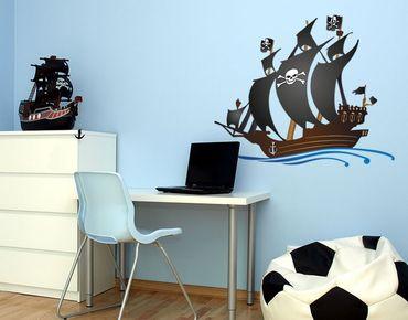 Adesivo murale - pirata