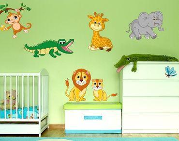 Adesivo murale - Animale da safari