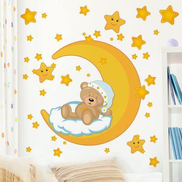 Adesivo murale - cielo stellato di Teddy
