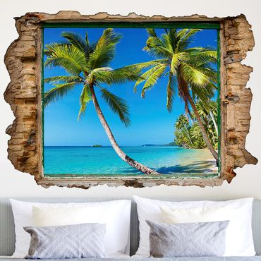 Adesivo murale 3D - Beach Of Thailand - orizzontale 3:2
