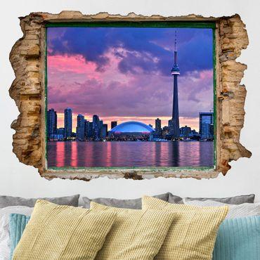 Adesivo murale 3D - Fascinating Toronto - orizzontale 3:2