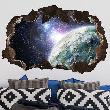 Adesivo murale 3D - Galaxy Light - orizzontale 3:2