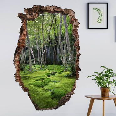 Adesivo murale 3D - Growing Trees - verticale 2:3