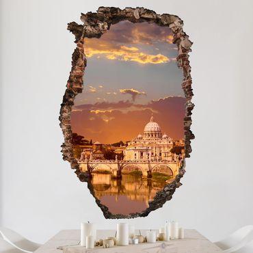 Adesivo murale 3D - Vatican - verticale 2:3