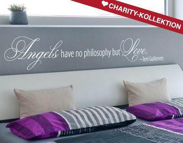 Adesivo murale - Angeli filosofia
