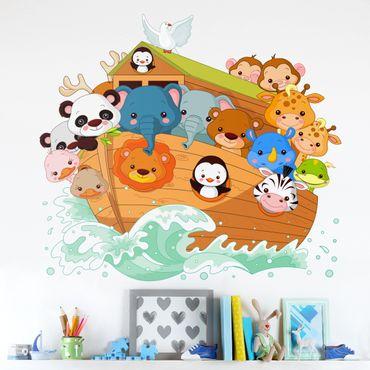 Adesivo murale 3D - Arca Di Noè