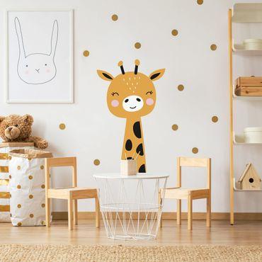 Adesivo murale bambini - Baby Giraffa