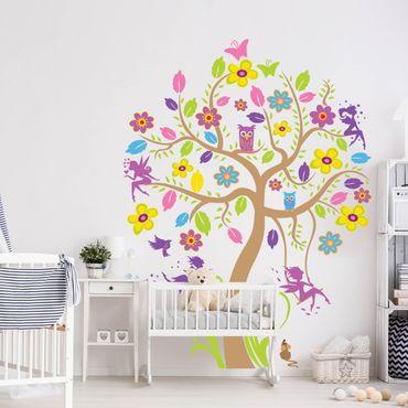 Adesivi murali bambini - Albero incantato - Stickers cameretta
