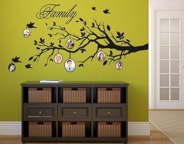 Adesivo murale - immagini albero