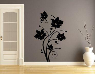 Adesivo murale - viti in fiore